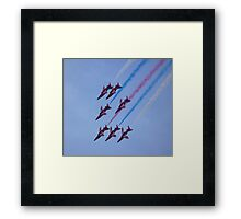 Out of the Loop Framed Print
