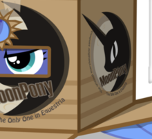 Sneaky Luna  Sticker