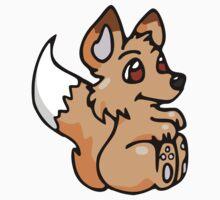 Baby Fox by hybridwing