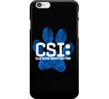 Blue's Clues CSI iPhone Case/Skin