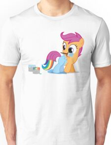 Scootaloo Wanna Be Rainbow Dash Unisex T-Shirt