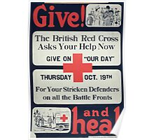Give! and heal Poster