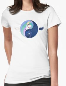 Celestia &  Luna Womens Fitted T-Shirt