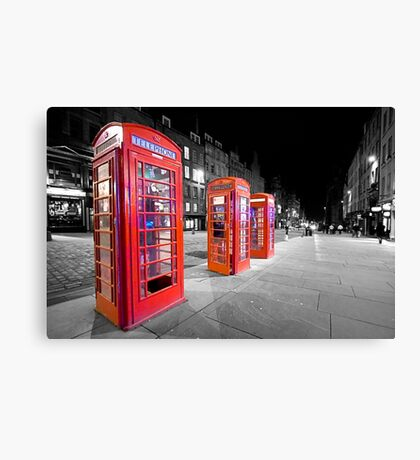 Ring...Ring...Ring Canvas Print
