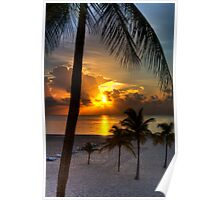Sunrise over Fort Lauderdale Poster