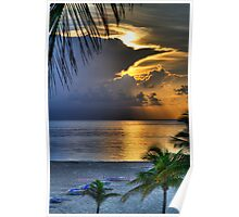Sunrise on Fort Lauderdale Poster