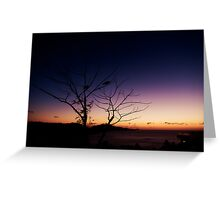 Pair on One Tree Hill Greeting Card