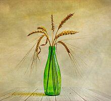 Green bottle by Veikko  Suikkanen