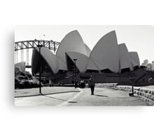 Sydney Icons Canvas Print