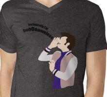 Technically I'm HoooOomeless Mens V-Neck T-Shirt