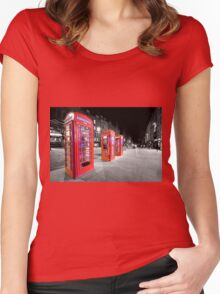 Ring...Ring...Ring Women's Fitted Scoop T-Shirt