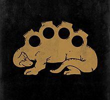 Brassknuckleosaurus by Jonah Block
