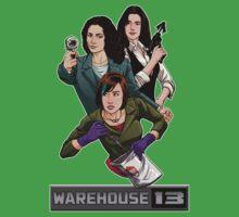 Warehouse 13 girls One Piece - Short Sleeve