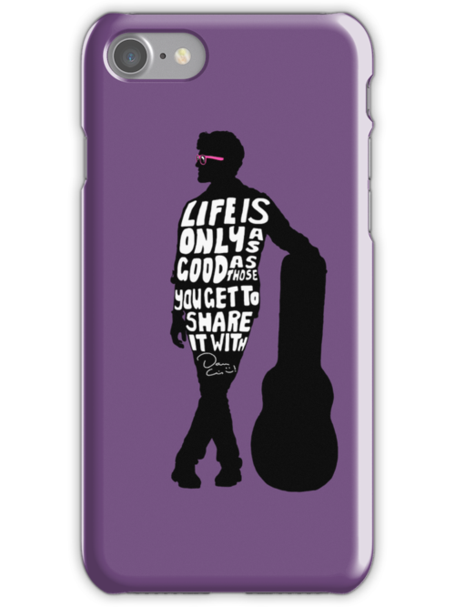 Darren Criss iPhone case by Ariane Iseger