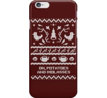 Over The Garden Wall - Knitted Pattern iPhone Case/Skin