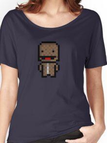 Pixel Sackboy Sticker Women's Relaxed Fit T-Shirt