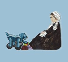 Woman with Robotic Dog Kids Clothes