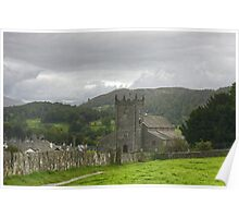 Hawkshead Parish Church Poster
