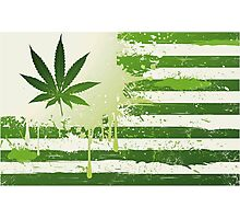 Weed Nation Photographic Print