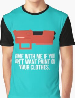 Community Paintball Print Graphic T-Shirt
