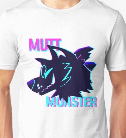 Mutt Monster Glitch Unisex T-Shirt