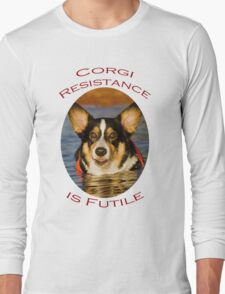 Corgi Resistance Long Sleeve T-Shirt