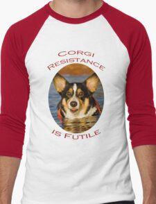 Corgi Resistance Men's Baseball ¾ T-Shirt