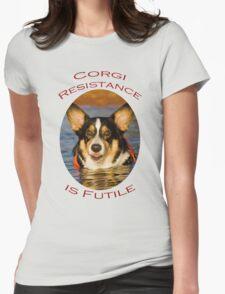 Corgi Resistance Womens Fitted T-Shirt