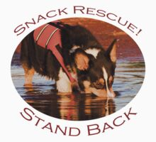 Snack Rescue!...Stand Back One Piece - Short Sleeve