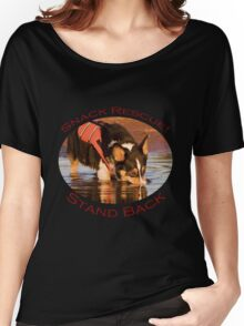 Snack Rescue!...Stand Back Women's Relaxed Fit T-Shirt