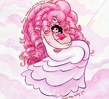 That's me Loving You: Steven Universe Rose Quartz and Steven  by livielightyear