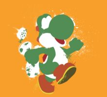 Green Yoshi Splatter Design by thedailyrobot