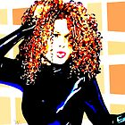 Janet Jackson - Nasty - Pop Art by wcsmack