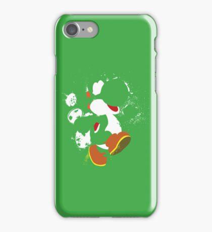 Green Yoshi Splatter Design iPhone Case/Skin