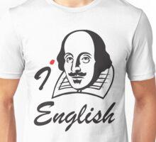 I LOVE ENGLISH T-shirt Unisex T-Shirt