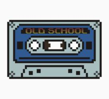 8 bit Old School Casette by PlatinumBastard