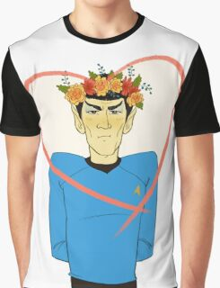 First Officer Spock Valentine Graphic T-Shirt