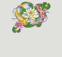 Lotus Koi Pond - Simple Unisex T-Shirt