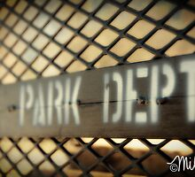 Grate Sign (Playground Series) by milkayphoto