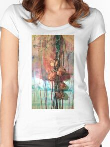 The Weeping Roses Women's Fitted Scoop T-Shirt