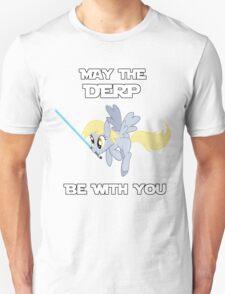 Derpy Hooves Jedi Unisex T-Shirt
