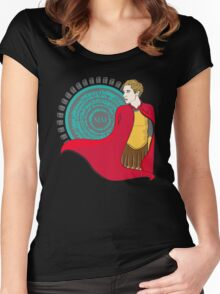 The Roman Who Waited Women's Fitted Scoop T-Shirt