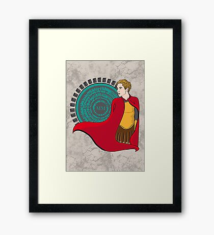 The Roman Who Waited Framed Print