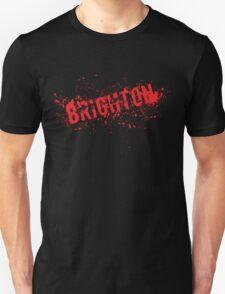 Brighton - Grunge Unisex T-Shirt