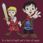 Merlin &amp; Arthur by rexraygun
