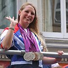 Stephanie Millward - Medals Galore ! by Colin  Williams Photography