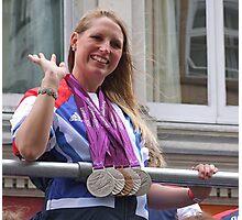 Stephanie Millward - Medals Galore ! Photographic Print