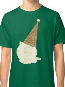 Holiday Ice Cream Cat Classic T-Shirt