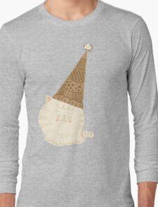 Holiday Ice Cream Cat Long Sleeve T-Shirt
