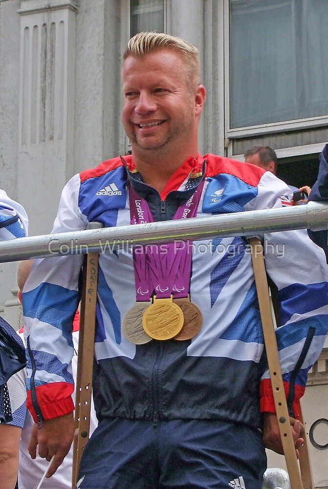 Lee Pearson - Multi Medal Winner by Colin  Williams Photography
